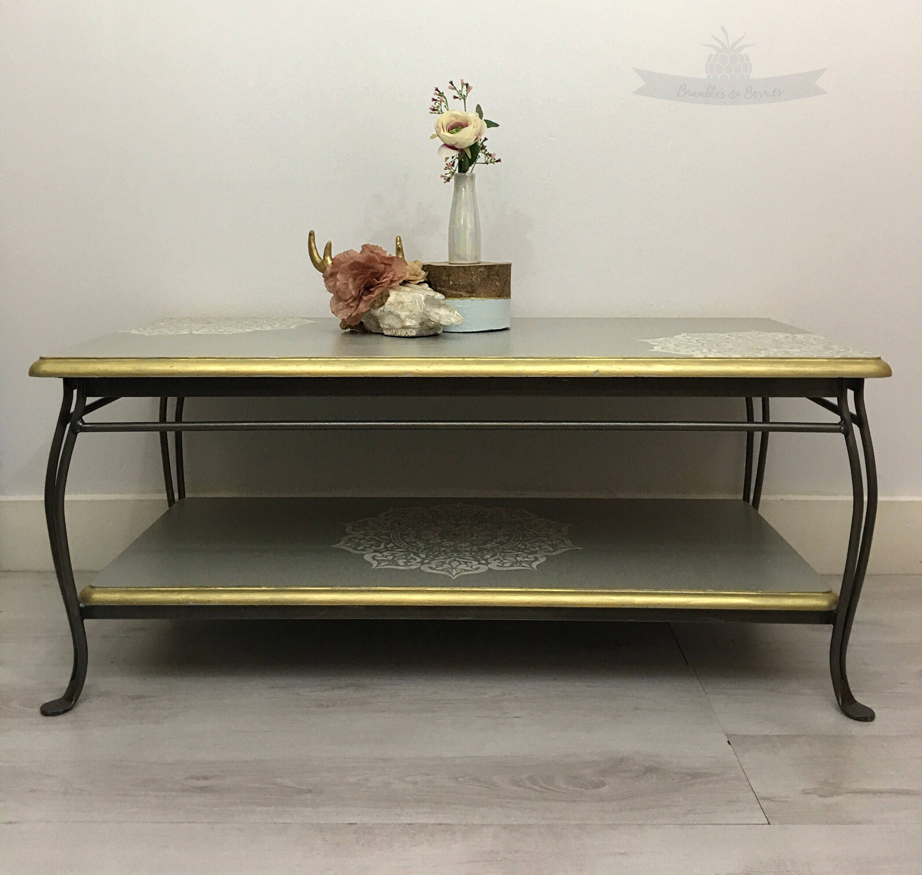 Upcycled coffee table. Rectangular coffee table. Small table. Side table. Office furniture. Shop furniture. Vintage furniture. Vintage table