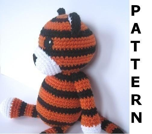 Crochet Tiger Pattern Dog Breeds Picture