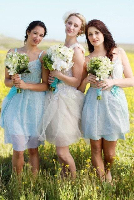 Custom Made Bridesmaids Dresses