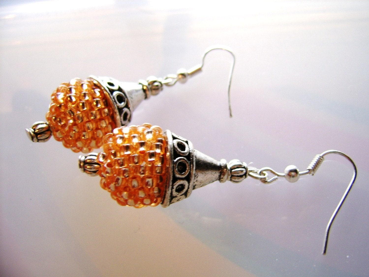 Sunshine Beaded Earrings