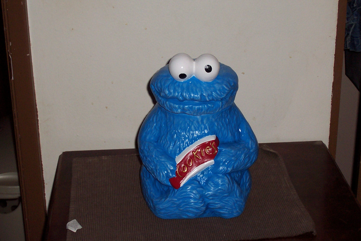 Items Similar To Cookie Monster Cookie Jar On Etsy