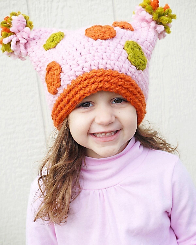 оригинальные детские шапки кошка зверюшки кючком - Сумки