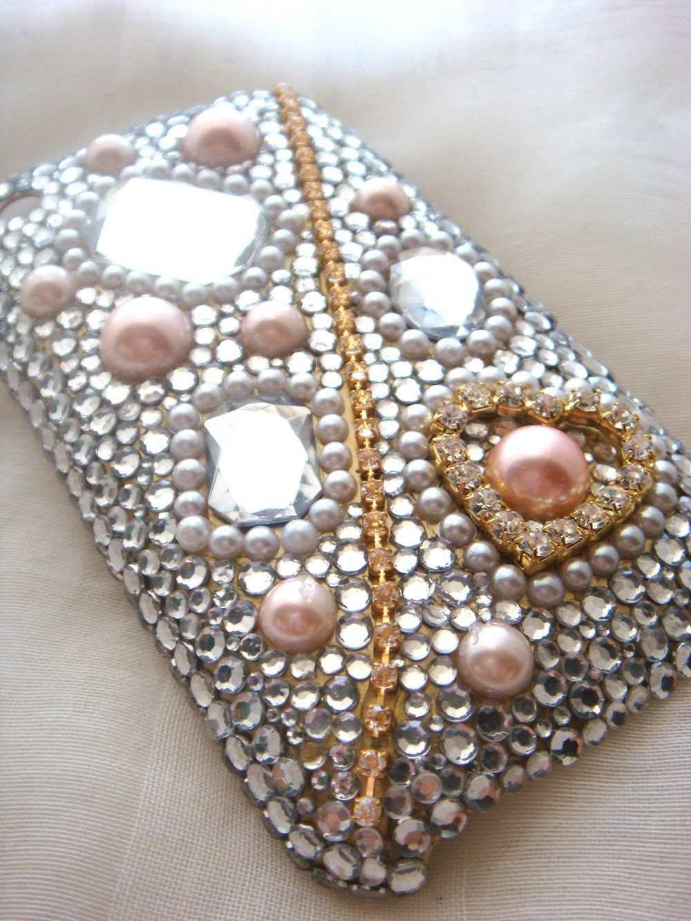 Kira kira bling golden iPhone 3G/3Gs case
