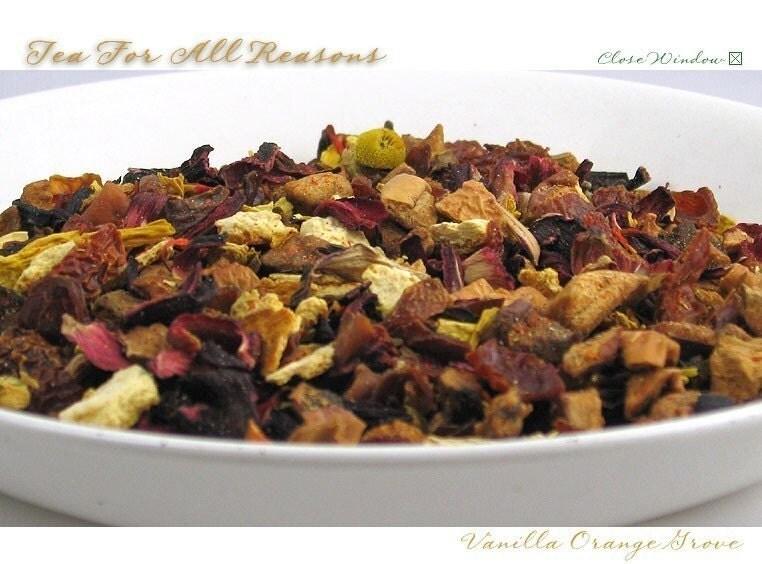 Orange Grove Vanilla - Herbal - 2 oz bag