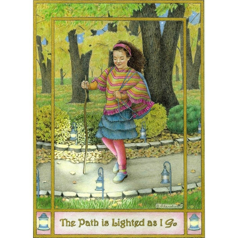 The Path Is Lighted As I Go  8x10 Print