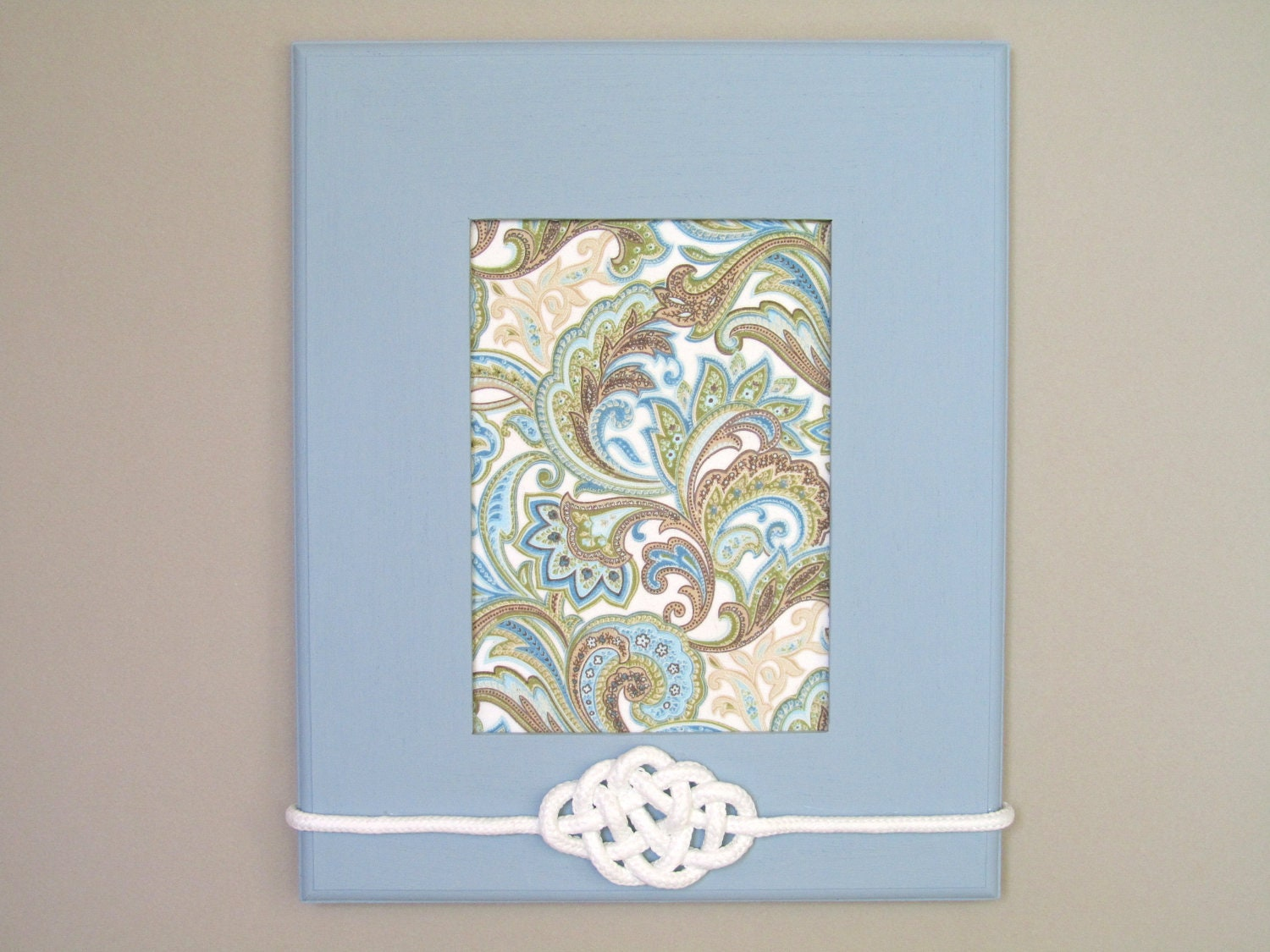 Items similar to shabby chic home decor paisley wall for Shabby chic wall art