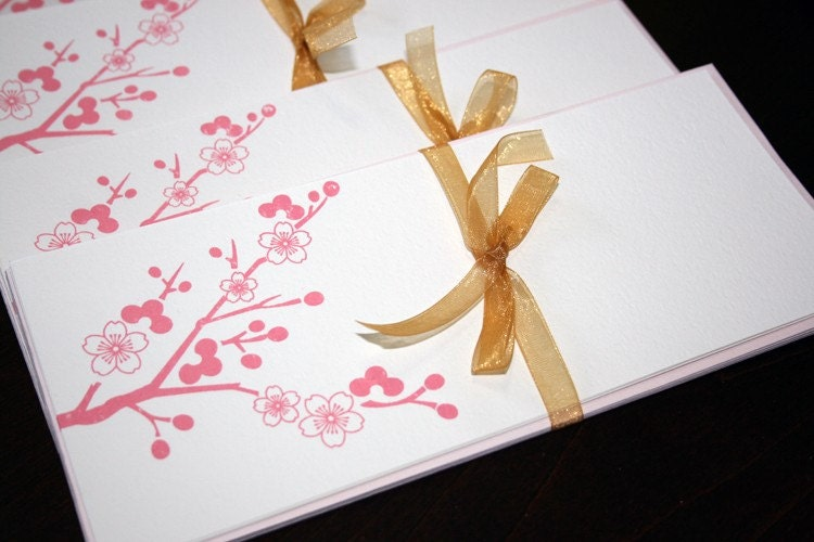 Cherry Blossom - Gocco Screen Print