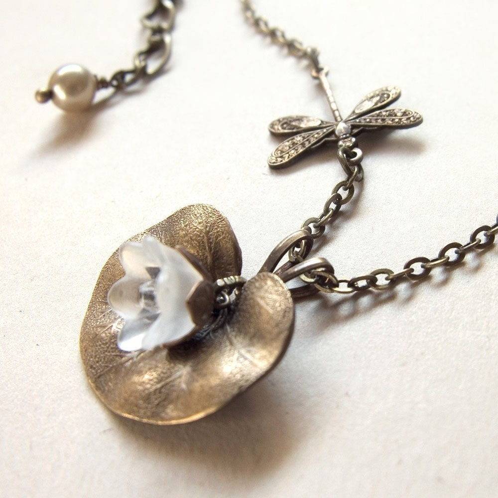 Waterlily Landing Necklace