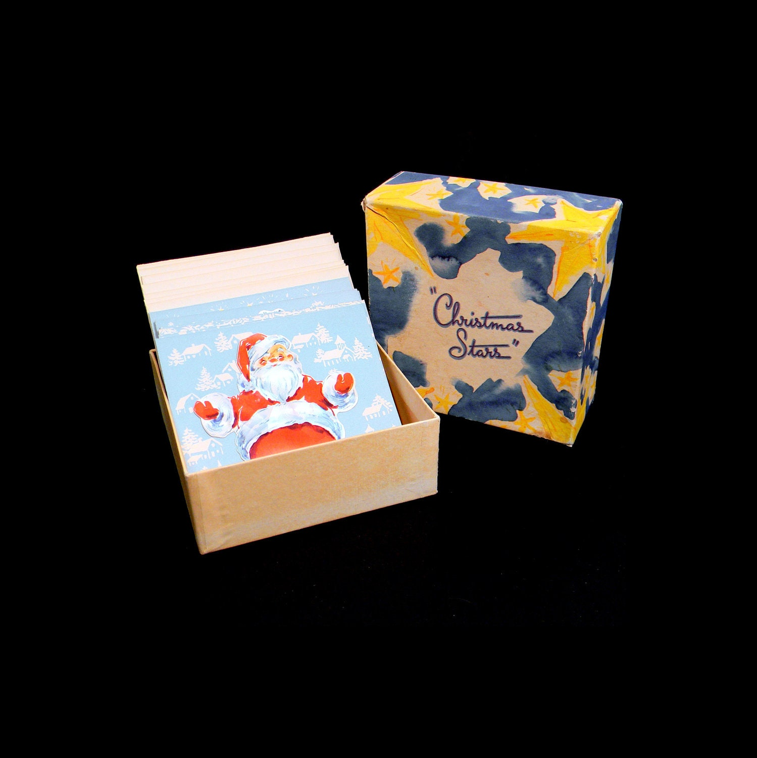 Vintage Boxed Christmas Card Set
