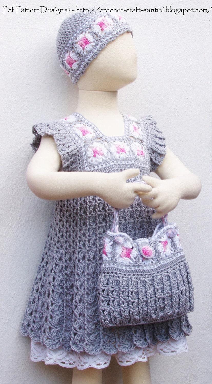 """钩针:""""公主手袋"""" - maomao - 我随心动"""