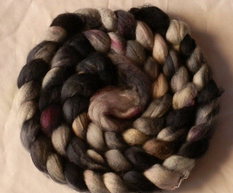 Wicked Space Dyed Merino Roving/Tops Spinning Fiber - Super Soft - 100g/3.5oz