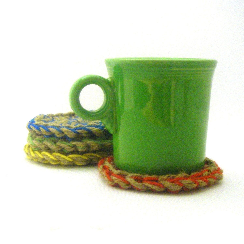 Crocheting Coasters : COASTER Crochet Pattern - Free Crochet Pattern Courtesy of