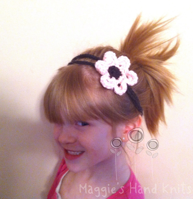 Pink Spring Flower Headband