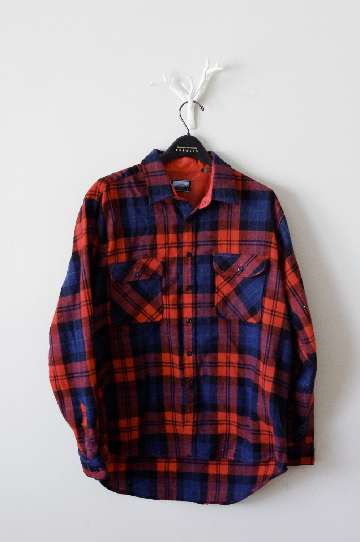 Fieldmaster flannel shirt tall xl men 39 s by thischarmingmancave for Mens xl flannel shirts