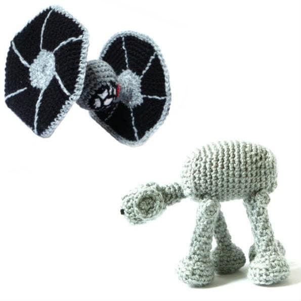Amigurumi Star Wars Crochet Patterns : Star wars crochet amigurumi patterns tie by mysteriouscats