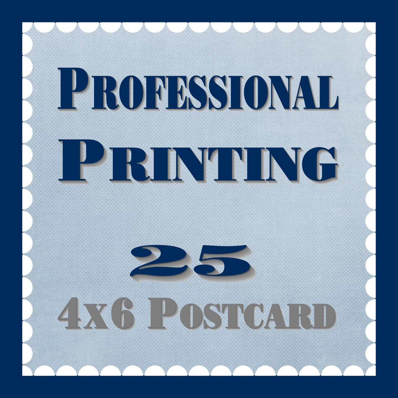 Items Similar To 4x6 Postcard  Professional Printing On