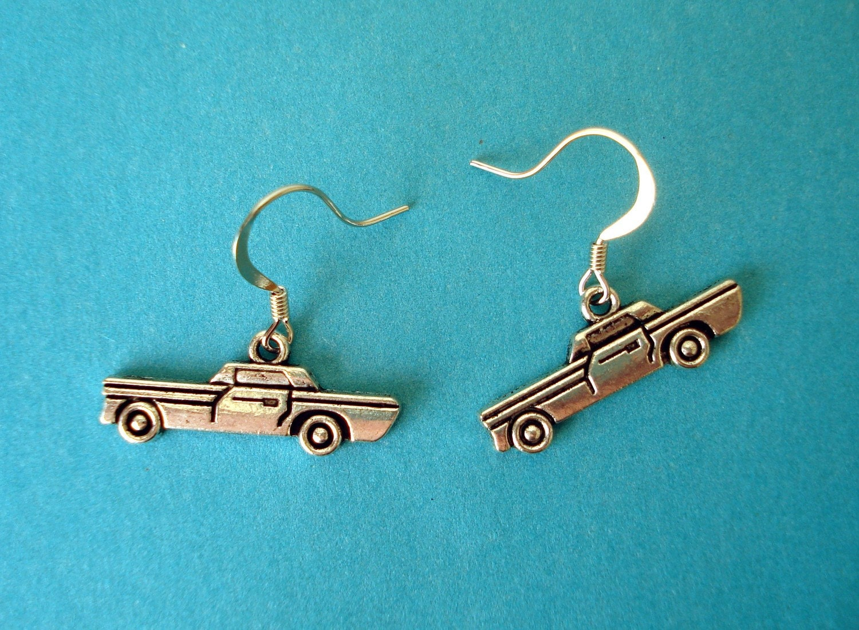 1950S Classic Car Earrings. From REDHOTKITTEN