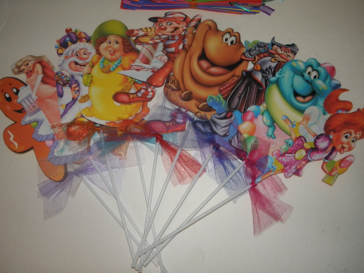 Candy Land Decorations By Flowers130 On Etsy