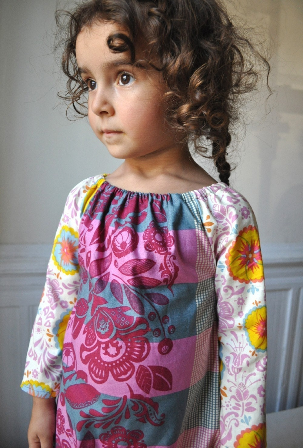 Chic bohemian dress by ManiMina's on Etsy
