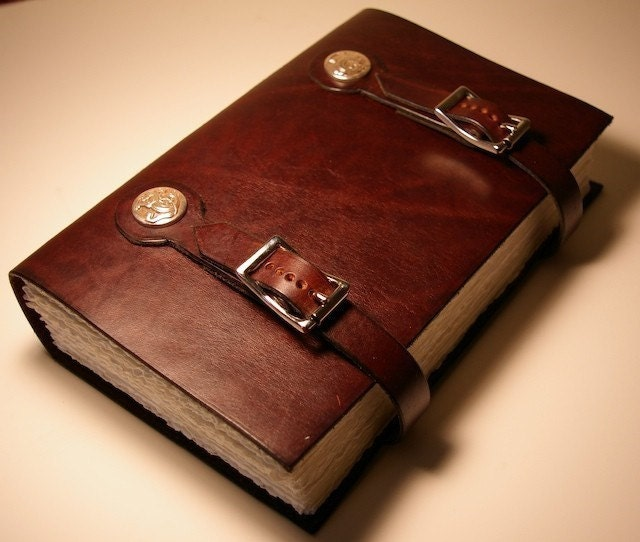 Leather Book Of Kells Dragon Monk By Artisangraham On Etsy