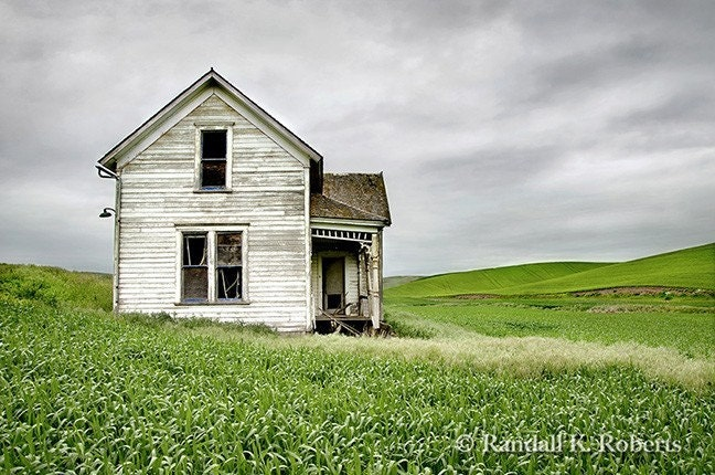 abandoned Victorian house photo print by Randall K. Roberts