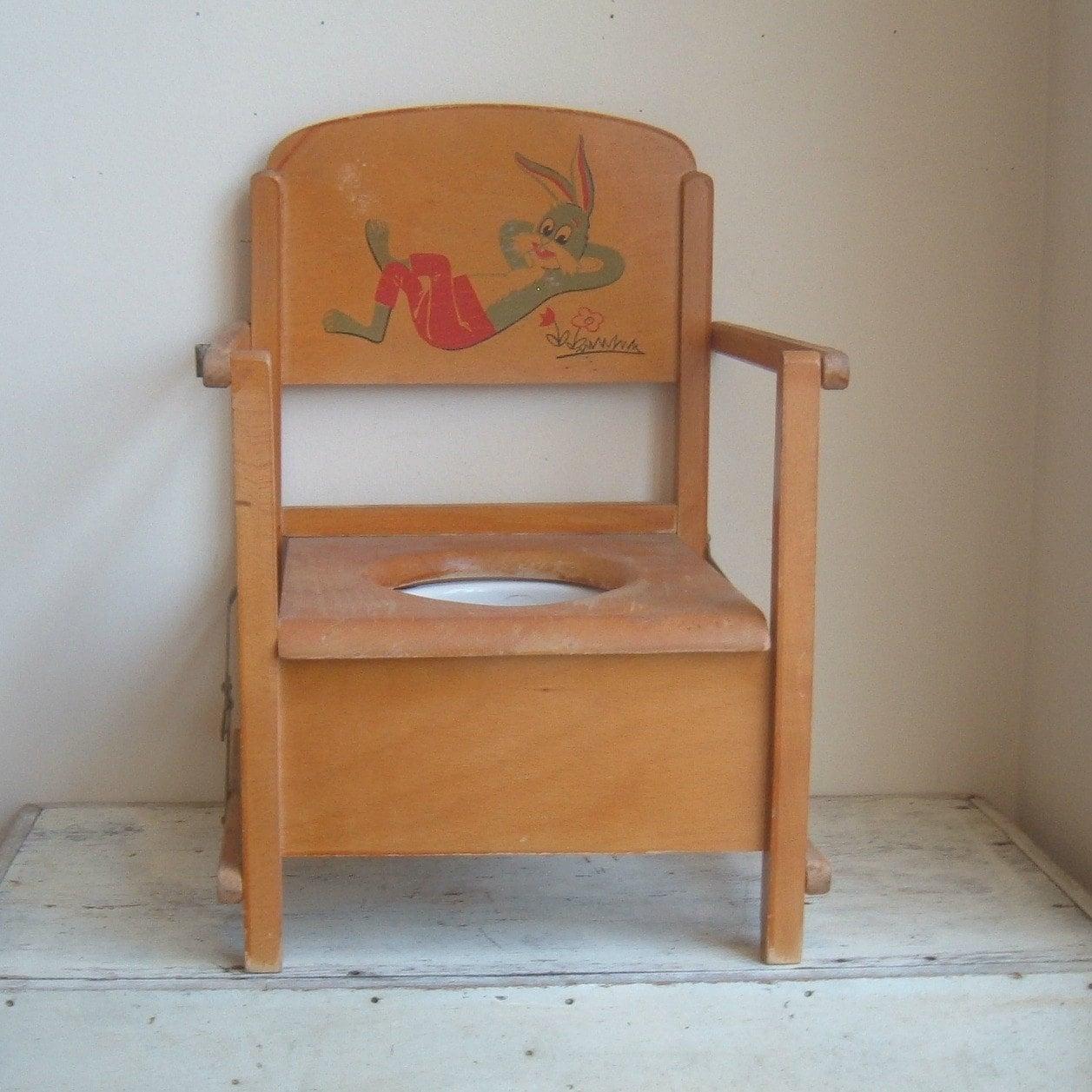 Vintage Child Potty Chair By ImSoVintage On Etsy