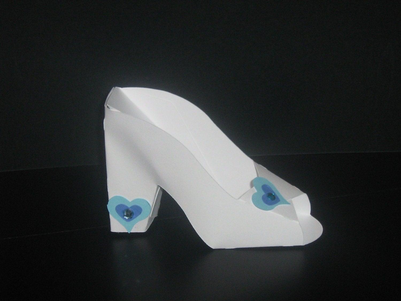 Glass Cinderella Shoe Clip Art
