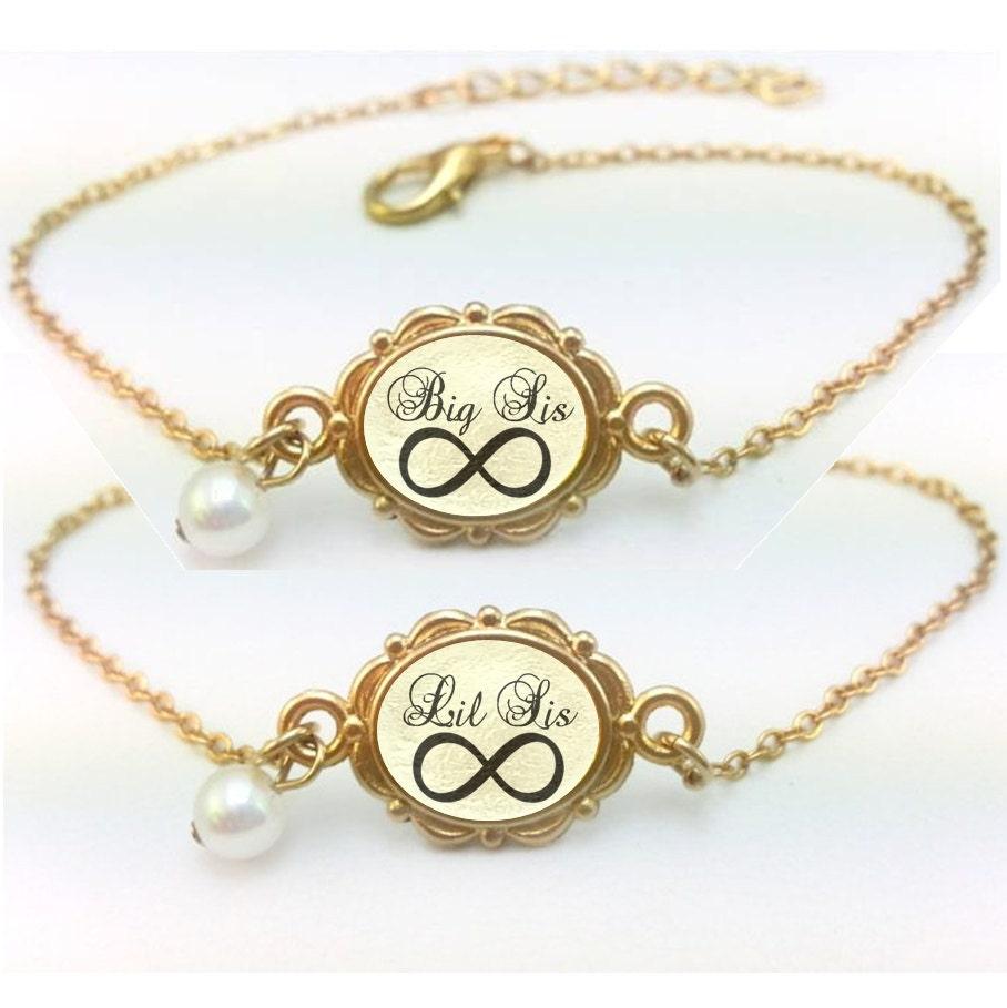 Sister jewelry little sister jewelry infinity bracelets sisters