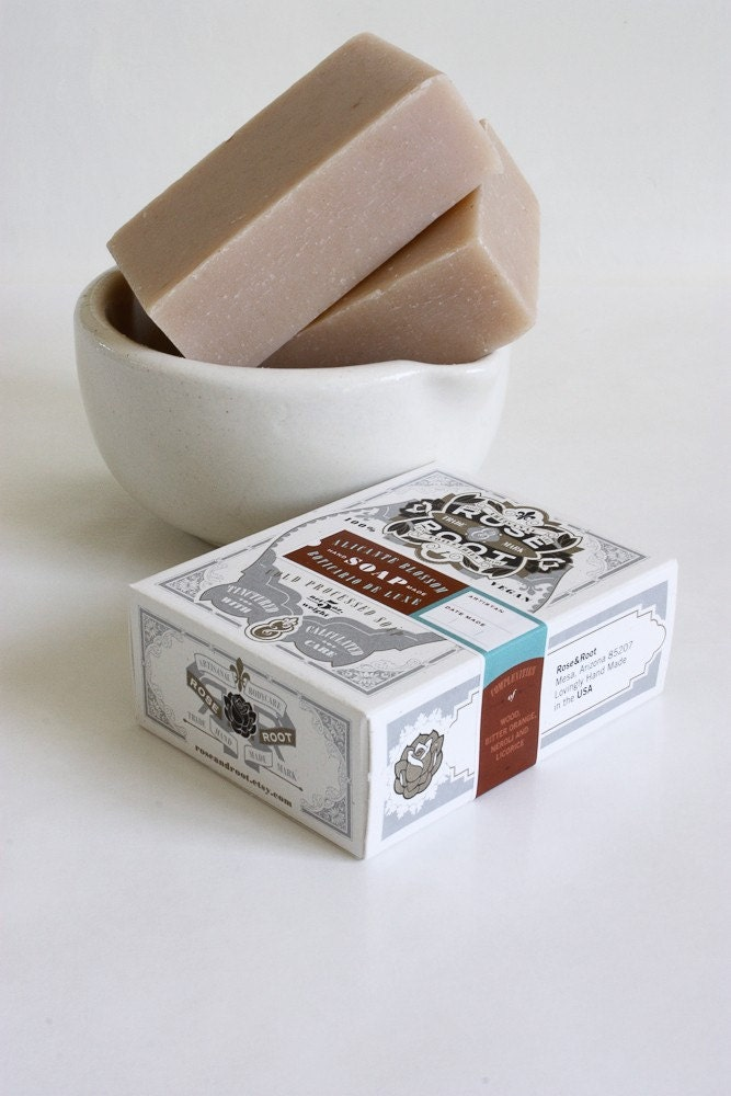 Rosewood Petitgrain Orange Blossom Handmade Natural SOAP
