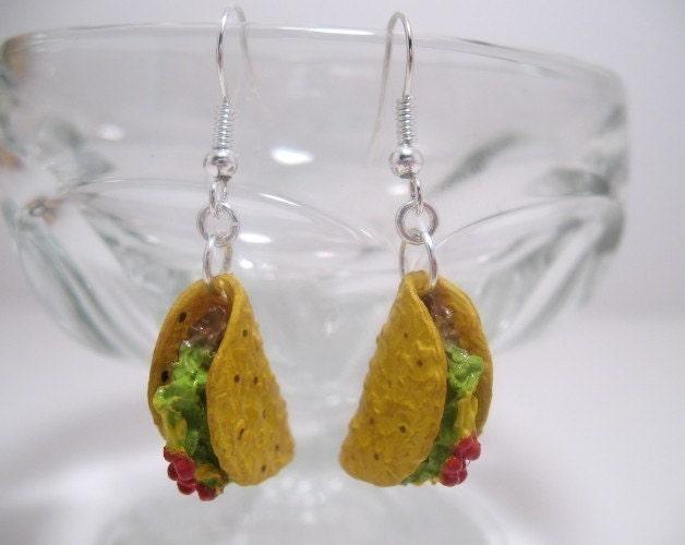 Tempting Taco Earrings
