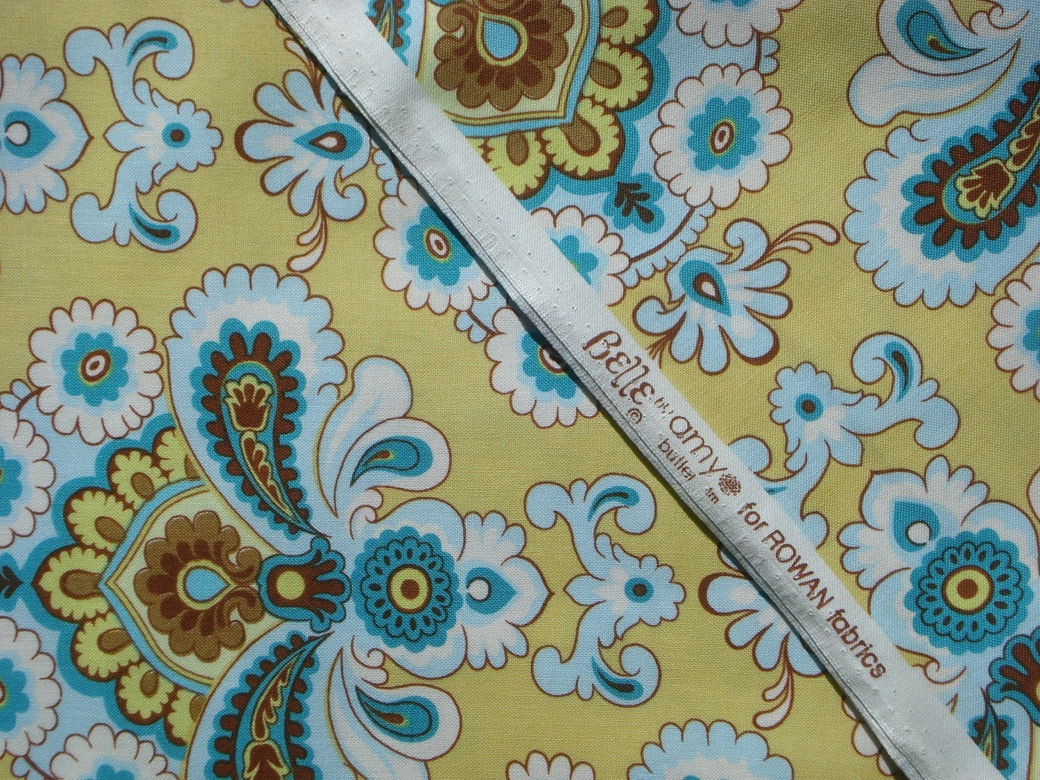 French Wallpaper Fabric