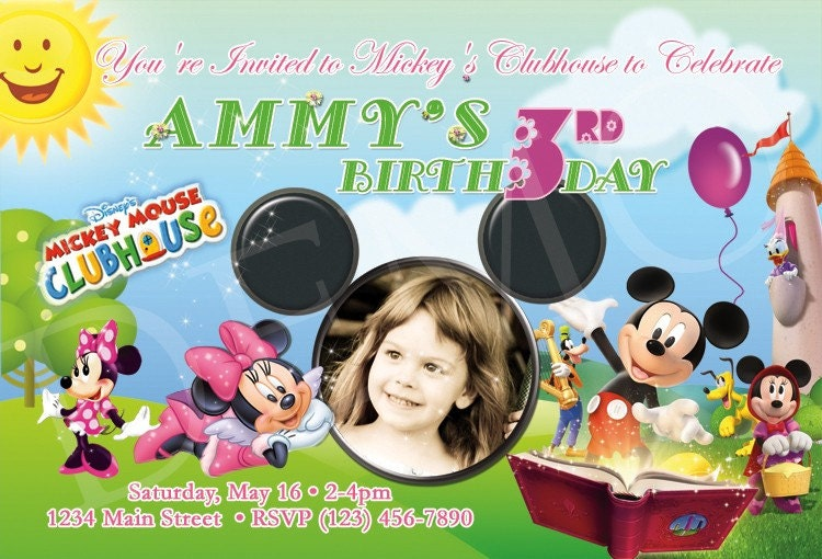 birthday party mickey mouse. Mickey Mouse Clubhouse