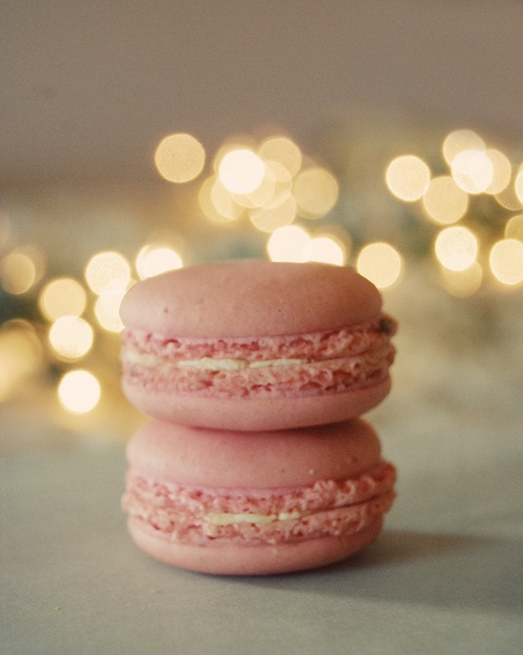 50% off sale this week  - Let them eat macarons 8x10 lustre finish