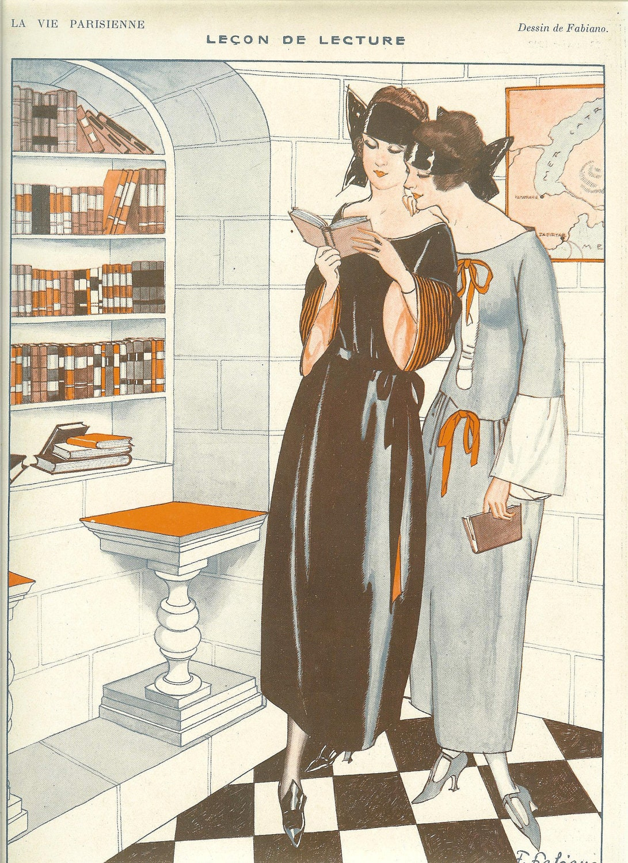 1920s art deco la vie parisienne fashion by printsandpastimes. Black Bedroom Furniture Sets. Home Design Ideas
