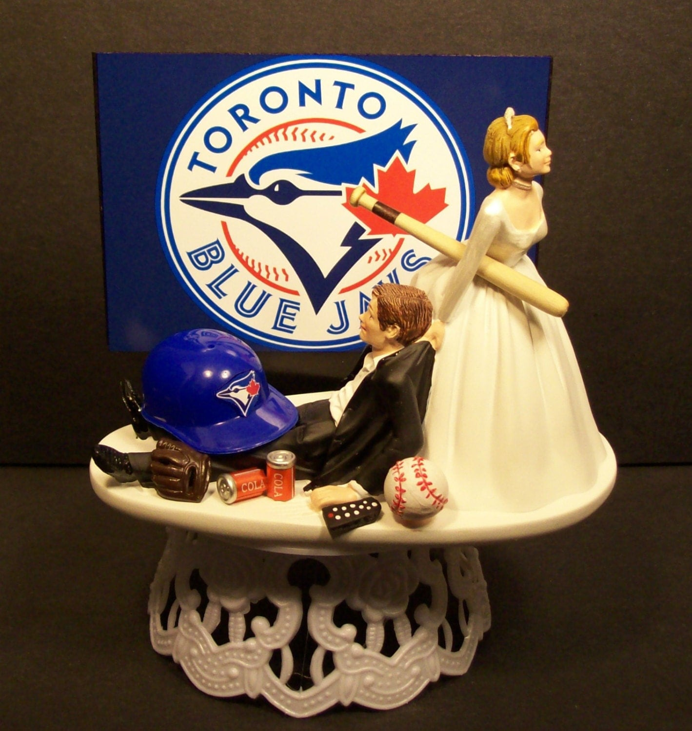 TORONTO BLUE JAYS Baseball Or Your Team Bride And By Mikeg1968