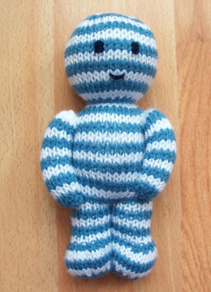 Myeloma Buddy Handknit Charity Doll