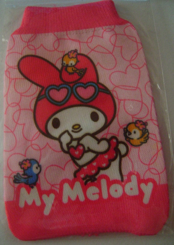 hello kitty phone sock. My Melody Mobile phone sock hello