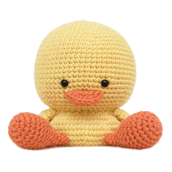 Amigurumi Knit Patterns Free : Henry the Duck Amigurumi Pattern by fatfaceandme on Etsy