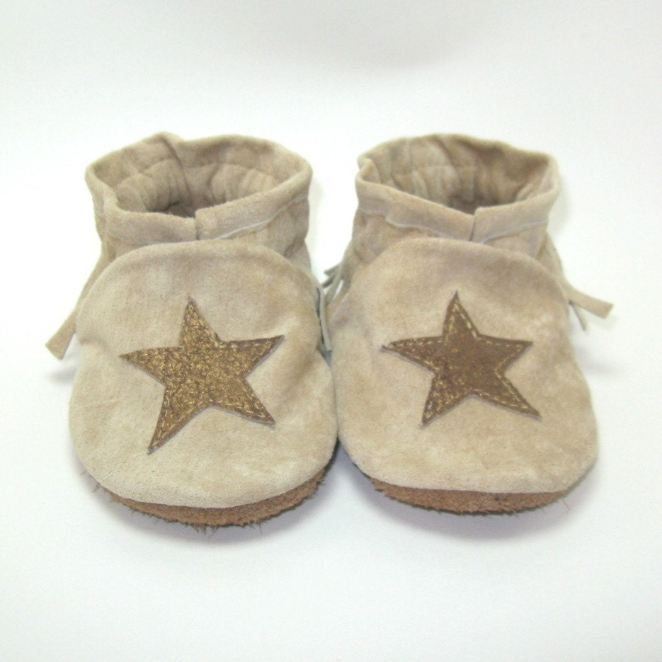 Baby Shoes Moccasins 0 to 6 Month Eco Friendly