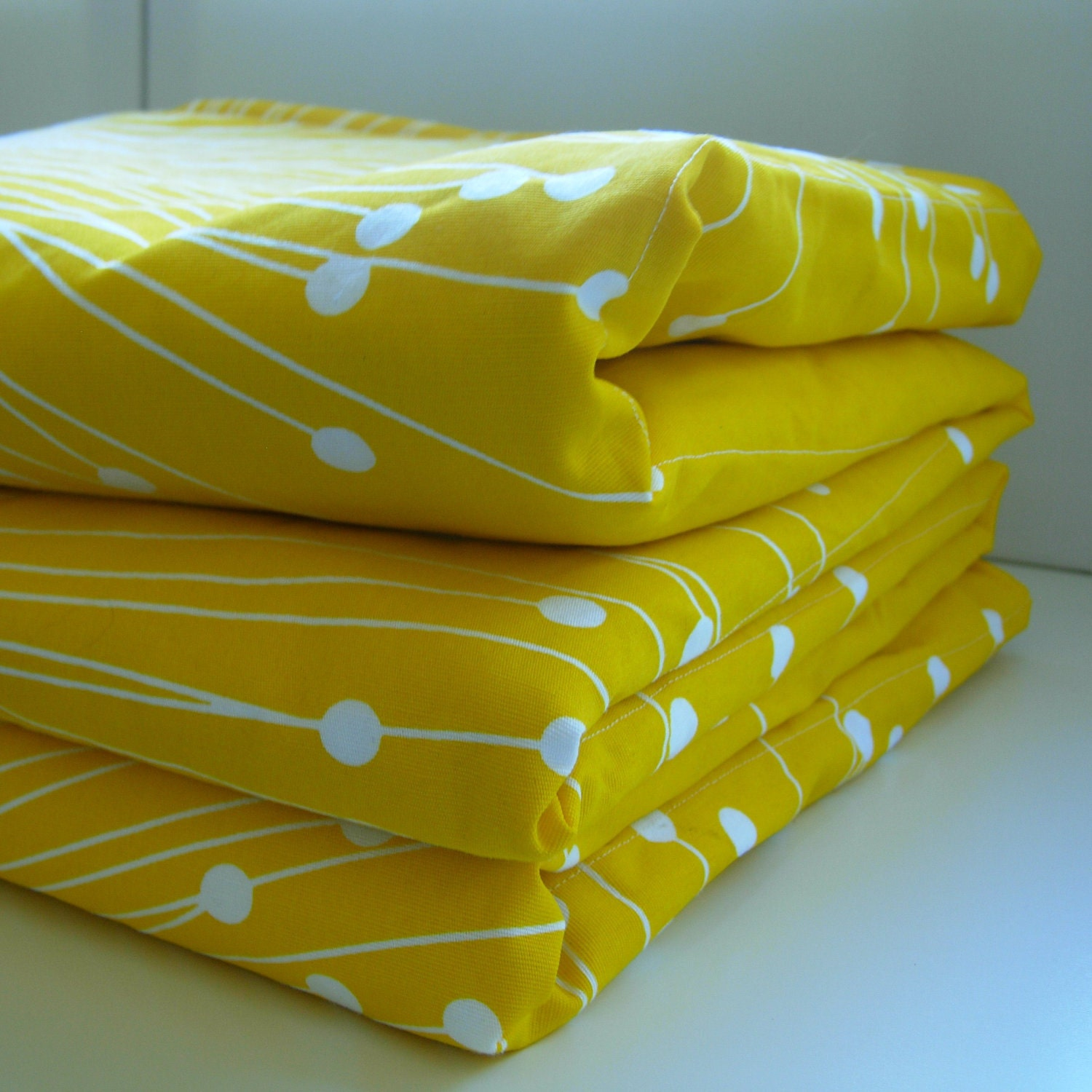Buckwheat Hull Mattress Topper Play Mat, in Reversible Modern Owl and Chevron Design Last One at $45