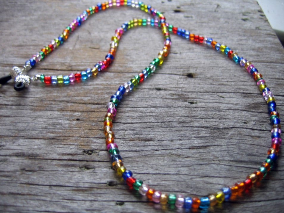 Rainbow Eyeglass Leash