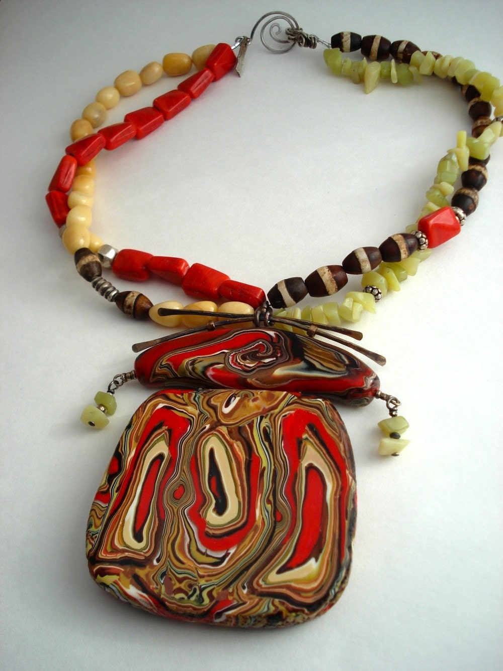 Asian Dance Necklace