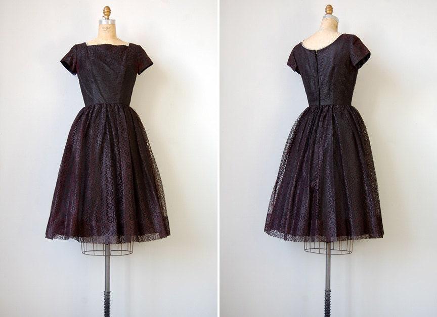 vintage 1950s dress // Abernathy Lace Dress