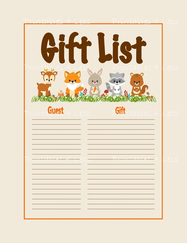 Baby shower gift ideas list