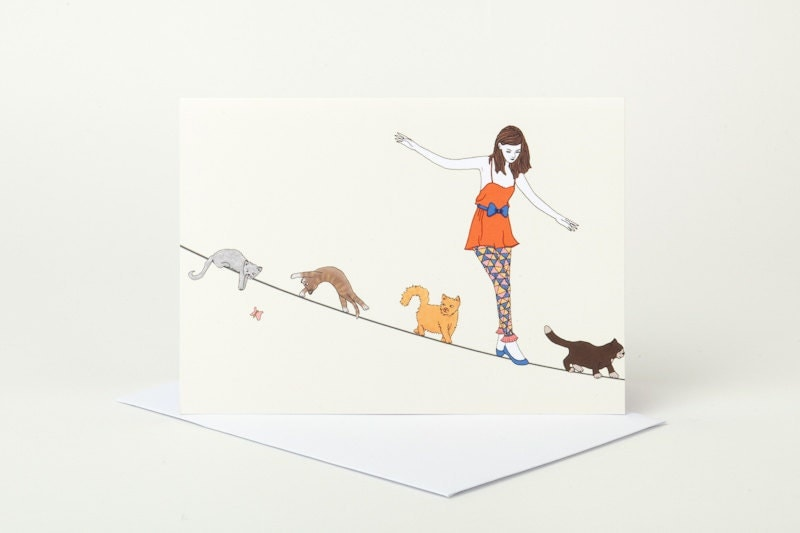 Follow The Leader Greeting Card - SophieParker