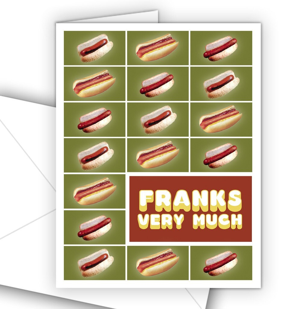 Franks Very Much  10 pack by theRasilisk on Etsy from etsy.com