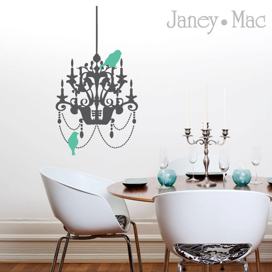 Unavailable listing on etsy for Dining room vinyl wall art
