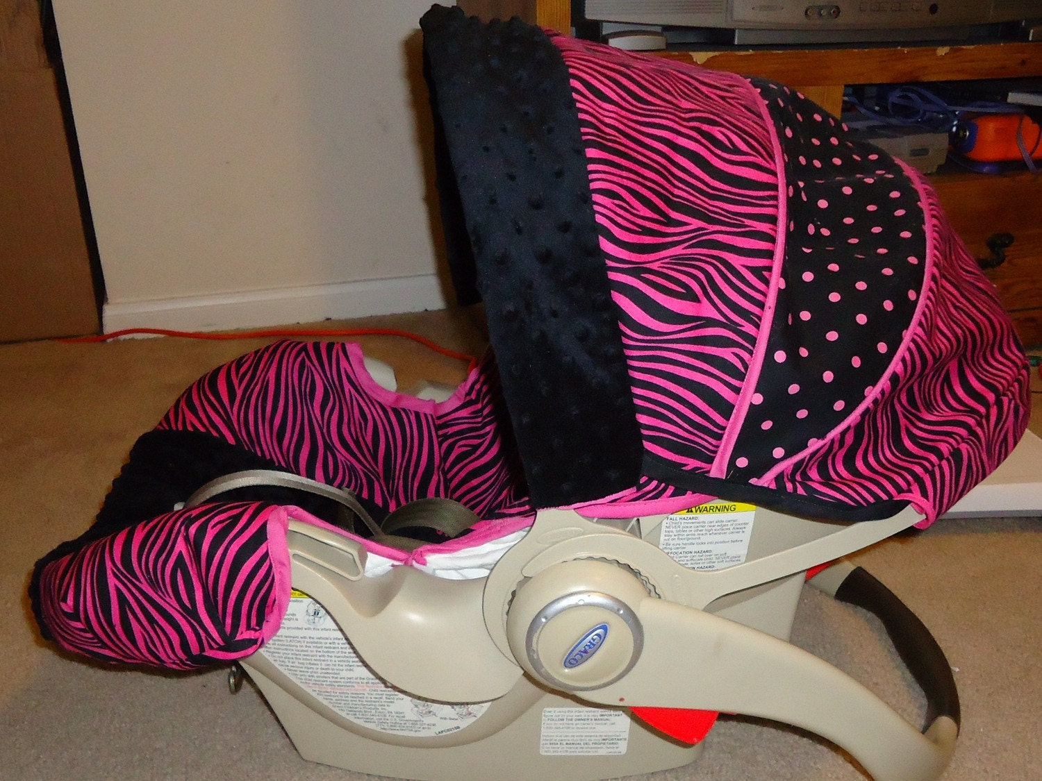 Seat Covers Zebra Print Baby Car Seat Covers