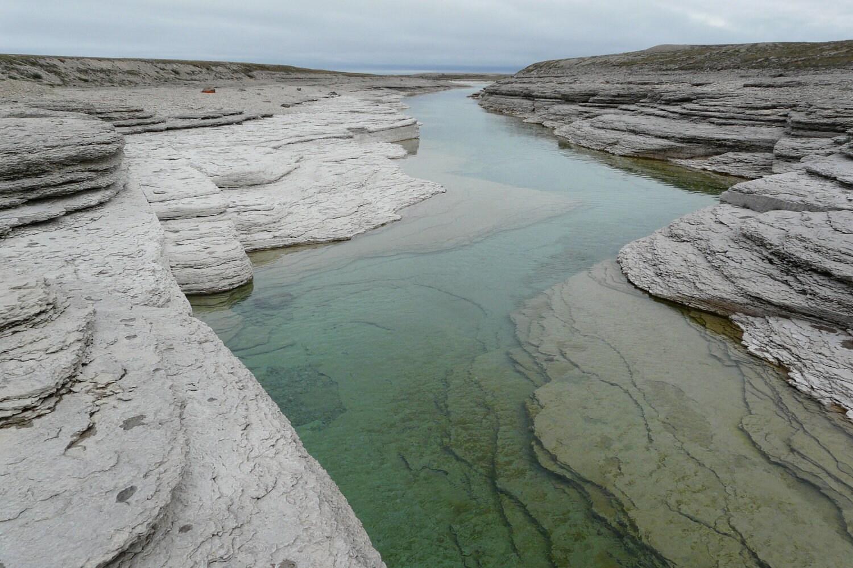 Crystal waters of Nunavut - johnnysprawl