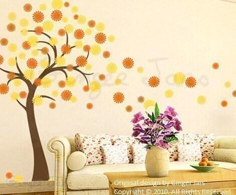 فروش --- نکته دیوار عکس برگردان وینیل هنر دشنه شکوفه های درخت گیلاس